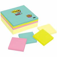 POST-IT 654-24SSCYM SUPER STICKY NOTES MIAMI 75 X 75MM 90 SHEETS PACK 24