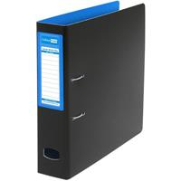COLOURHIDE MIGHTY LEVER ARCH FILE A4 BLUE/BLACK