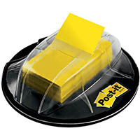 POST-IT 680-HVYW FLAGS VALUE PACK DESK DISPENSER 200 FLAGS YELLOW