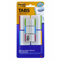POST-IT 686-VAD1 DURABLE TABS 50MM VALUE PACK + BONUS 25MM TABS