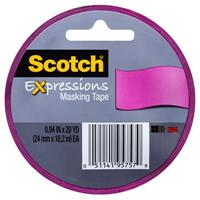 SCOTCH 3437-PNK EXPRESSION MASKING TAPE PINK