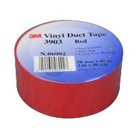 SCOTCH 3903 VINYL TAPE 50.8MM X 45.7M RED