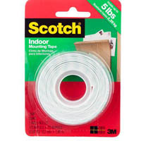 SCOTCH 110 INDOOR MOUNTING TAPE HEAVY DUTY 13MM X 1.9M