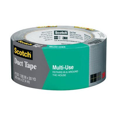 Image for SCOTCH 1130 DUCT TAPE PREMIUM FOR HOME AND WORK 48MM X 27.4M SILVER from Office National Limestone Coast