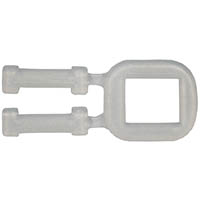CUMBERLAND PLASTIC STRAPPING BUCKLE 12MM BOX 1000