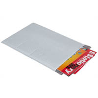 CUMBERLAND PLASTIC BUBBLE LINED MAILER 361 X 483MM PLAIN WHITE PACK 5