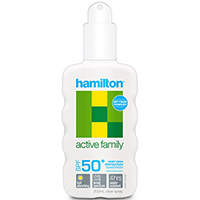 HAMILTON ACTIVE FAMILY SPRAY SPF50+ 200ML