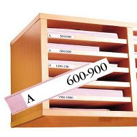 3L 7530-100 SHELF LABEL HOLDERS 30 X 150MM PACK 100