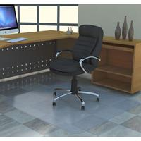 MARBIG TUFFMAT CHAIRMAT POLYCARBONATE HARD FLOOR 900 X 1200MM CLEAR