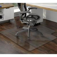 MARBIG TUFFMAT CHAIRMAT POLYCARBONATE HARD FLOOR 1200 X 1500MM CLEAR
