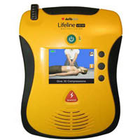 DEFIBTECH DEFIBRILLATOR LIFELINE VIEW WITH LCD SCREEN