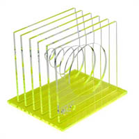 COLOURHIDE GLO MY GLOWING ACRYLIC STEP FILE YELLOW