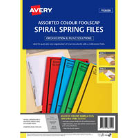 Tubeclip and Spiral Spring Files