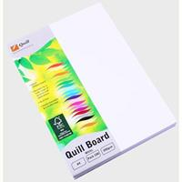 QUILL XL MULTIBOARD 210GSM A4 WHITE PACK 100