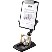 FELLOWES FLEX ARM COPY HOLDER WEIGHTED BASE