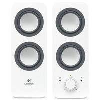 LOGITECH Z200 MULTIMEDIA SPEAKERS SNOW WHITE