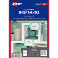 AVERY 980047 C32301 REMOVABLE SHELF TALKERS PACK 30