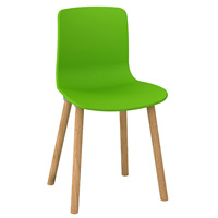 DAL ACTI WOODEN 4-LEG CHAIR GREEN