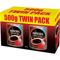 NESCAFE BLEND 43 INSTANT COFFEE 500G PACK 2