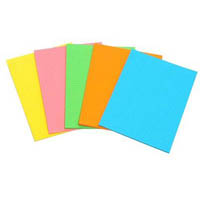 MARBIG FLUORO WRITING PAD 40 LEAF A4