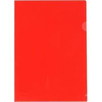 MARBIG LETTER FILE PP A4 RED