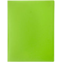 MARBIG SOFT TOUCH DISPLAY BOOK 12 POCKET LIME