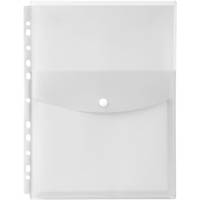 MARBIG TOP OPENING BINDER POCKET A4 CLEAR