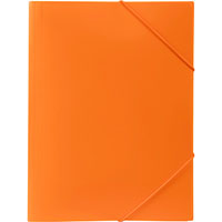 MARBIG SOFT TOUCH DOCUMENT WALLET A4 ORANGE