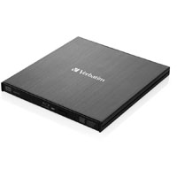 VERBATIM EXTERNAL SLIMLINE MOBILE BLU-RAY WRITER BLACK