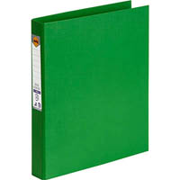 MARBIG RING BINDER PE 25MM 2D A4 GREEN