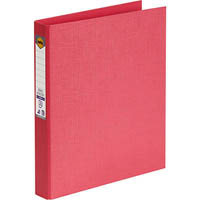 MARBIG RING BINDER PE 25MM 2D A4 CORAL