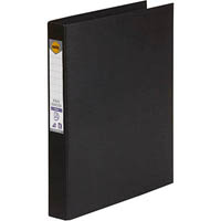 MARBIG RING BINDER PE 25MM 3D A4 BLACK