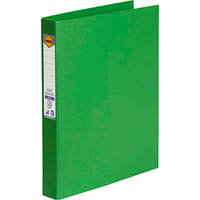 MARBIG RING BINDER PE 25MM 3D A4 GREEN