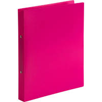 MARBIG SOFT TOUCH 2 RING BINDER A4 PINK