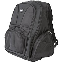KENSINGTON 16 INCH CONTOUR BACKPACK BLACK