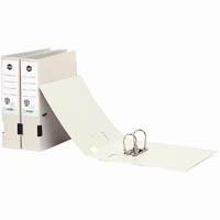 MARBIG ENVIRO LEVER ARCH FILE RECYCLED PP A4