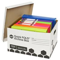 MARBIG QUICKFOLD ARCHIVE BOX