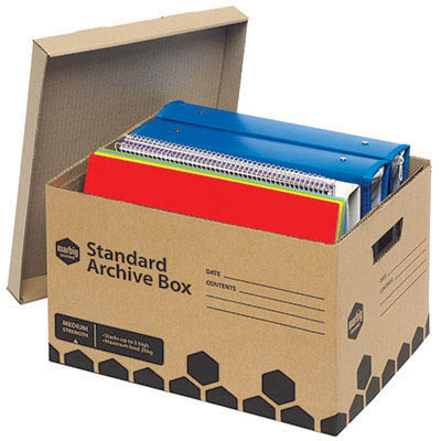 Image for MARBIG ENVIRO ARCHIVE BOX CARTON 20 from OFFICE NATIONAL CANNING VALE, OFFICE TOOLS OPD & OMNIPLUS