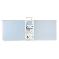 MARBIG CHAIRMAT POLYPROPYLENE RECTANGULAR 900 X 1200MM FROSTY ICE