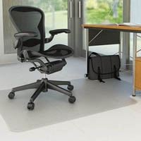 MARBIG CHAIRMAT PVC HARD FLOOR KEYHOLE 1140 X 1340MM