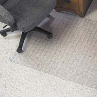 MARBIG DURAMAT CHAIRMAT GRID PATTERN PVC CARPET 1140 X 1340MM