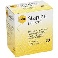 MARBIG STAPLES HEAVY DUTY 23/10 BOX 5000