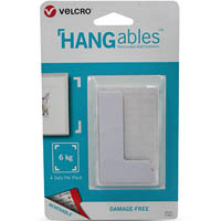VELCRO HANGABLES REMOVABLE WALL FASTENERS CORNERS SET OF 4