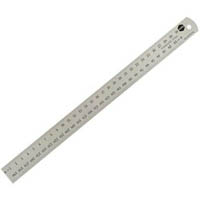 MARBIG RULER STAINLESS STEEL 600MM