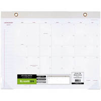 AT-A-GLANCE 2019 SIGNATURE COLLECTION MONTHLY DESK PLANNER PAD 552 X 431MM