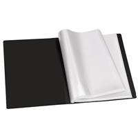 REXEL SLIMVIEW DISPLAY BOOK 12 POCKET A4 BLACK