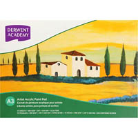DERWENT ACADEMY DRAWING PAD LANDSCAPE 12 SHEETS A3