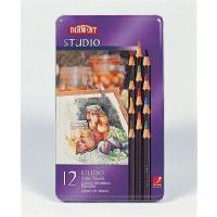 DERWENT STUDIO PENCILS 3.5MM TIN 36