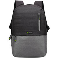 MOKI ODYSSEY LAPTOP BACKPACK 15.6 INCH BLACK/GREY