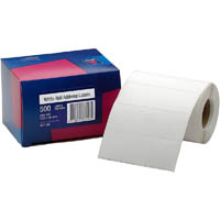 AVERY 937109 ADDRESS LABEL 102 X 36MM ROLL WHITE BOX 500